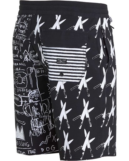 2 Knives Lo Tides Boardshorts  M198PBKN Billabong