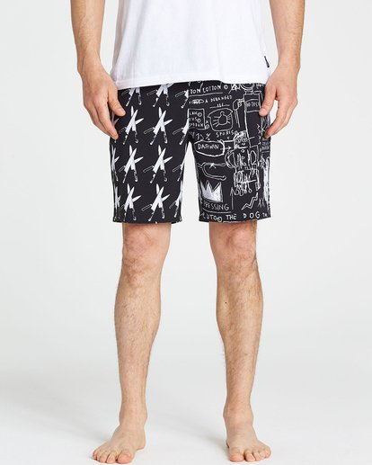 3 Knives Lo Tides Boardshorts  M198PBKN Billabong