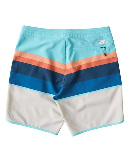 1 73 Stripe LT Boardshorts Green M198VBSP Billabong