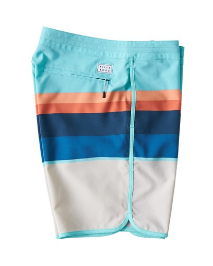 2 73 Stripe LT Boardshorts Green M198VBSP Billabong