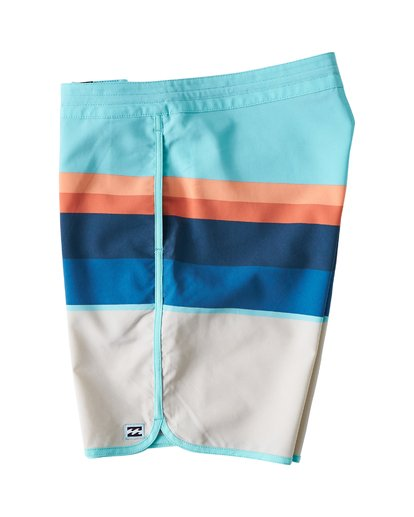 3 73 Stripe LT Boardshorts Green M198VBSP Billabong