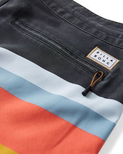 5 73 Stripe LT Boardshorts Blue M198VBSP Billabong