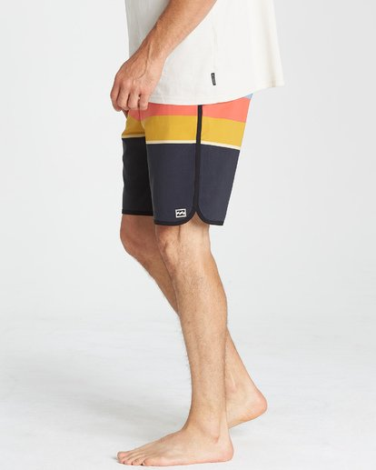 10 73 Stripe LT Boardshorts Blue M198VBSP Billabong