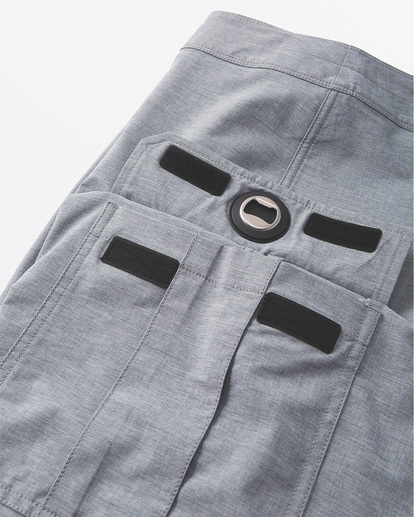 5 Combat Bottle Opener Pro Boardshorts Grey M1991BCB Billabong