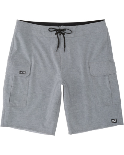 0 Combat Bottle Opener Pro Boardshorts Grey M1991BCB Billabong