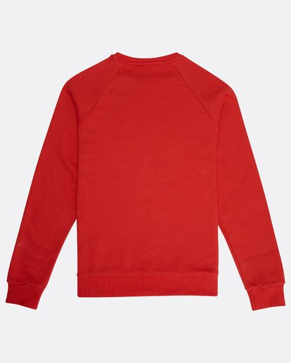 1 Eighty Six Crew Sweatshirt Rouge M1FL01BIW8 Billabong