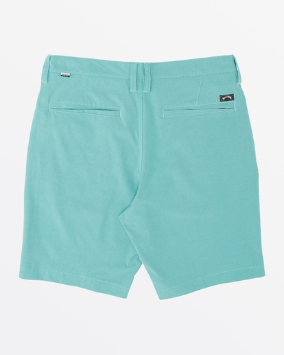 4 Crossfire X  Mid Submersible Walkshort Green M2011BCM Billabong