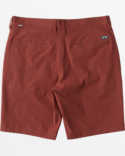 "5 Crossfire X  Mid Submersible Short 19"" Red M2011BCM Billabong"