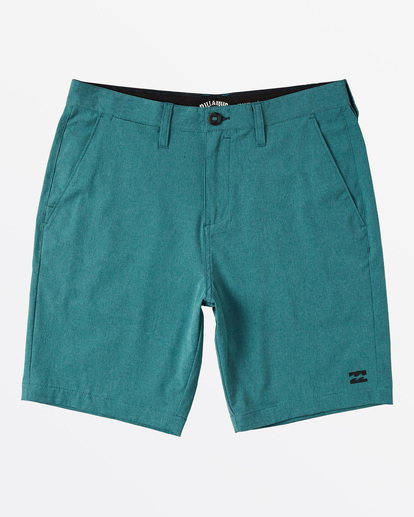 "4 Crossfire X  Mid Submersible Short 19"" Blue M2011BCM Billabong"