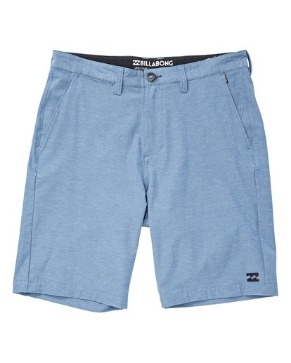 0 Crossfire X Mid Length Submersibles Shorts Blue M201QBCM Billabong