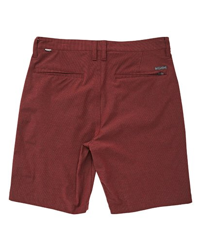 1 Crossfire X Mid Length Submersibles Shorts Red M201QBCM Billabong