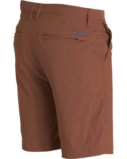 2 Crossfire X Mid Length Submersibles Shorts Brown M201QBCM Billabong