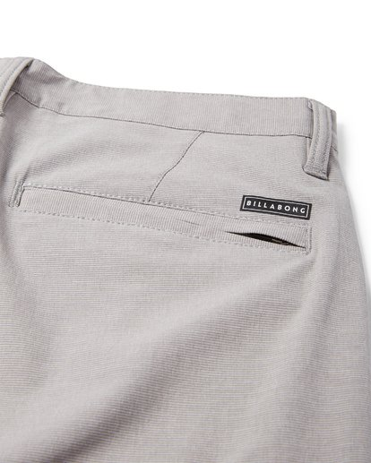 5 Crossfire X Mid Length Submersibles Shorts Grey M201VBCM Billabong