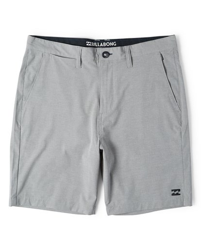 3 Crossfire X Mid Length Submersibles Shorts Grey M201VBCM Billabong