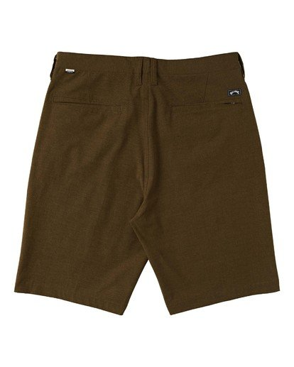 "1 Crossfire Submersible Short 21"" Brown M2021BCX Billabong"