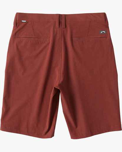 "5 Crossfire Submersible Short 21"" Red M2021BCX Billabong"