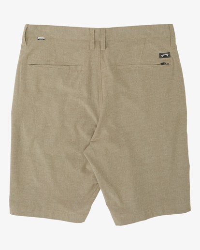 "6 Crossfire Submersible Short 21"" Beige M2021BCX Billabong"