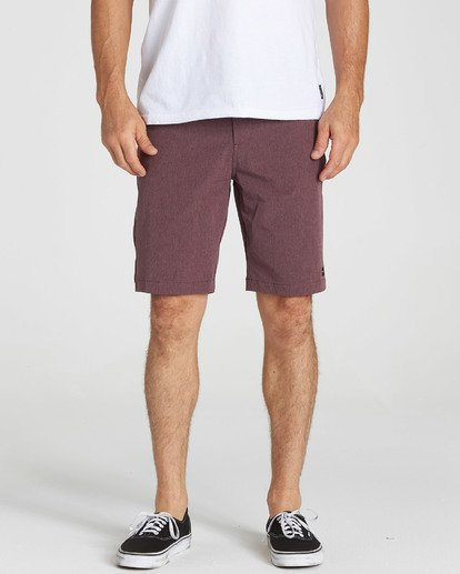 4 Crossfire X Submersibles Shorts Purple M202NBCX Billabong