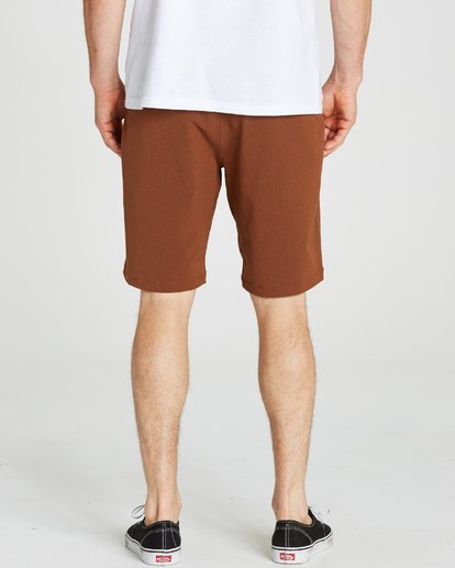 4 Crossfire X Submersibles Shorts Brown M202NBCX Billabong