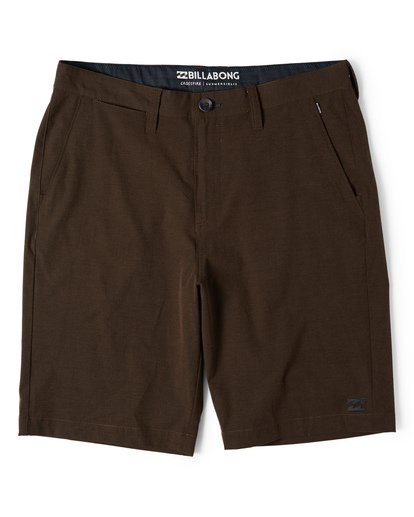 0 Crossfire X Submersibles Shorts Brown M202VBCX Billabong