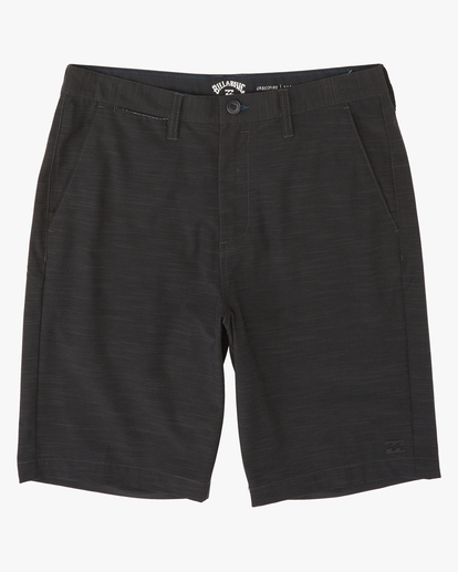 "3 Crossfire Slub Submersible Walkshort 21"" Black M2031BCS Billabong"