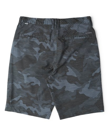 4 Crossfire X Slub Submersible Shorts Grey M203NBCS Billabong