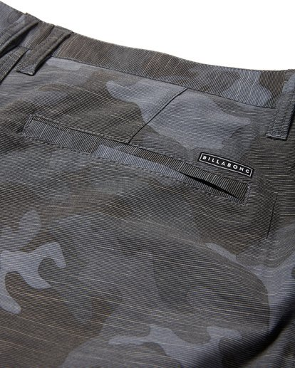9 Crossfire X Slub Submersible Shorts Grey M203NBCS Billabong