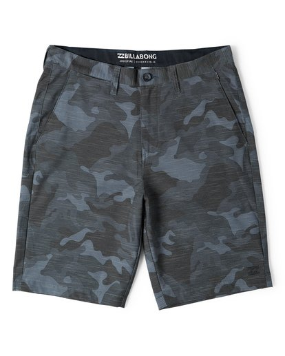 3 Crossfire X Slub Submersible Shorts Grey M203NBCS Billabong