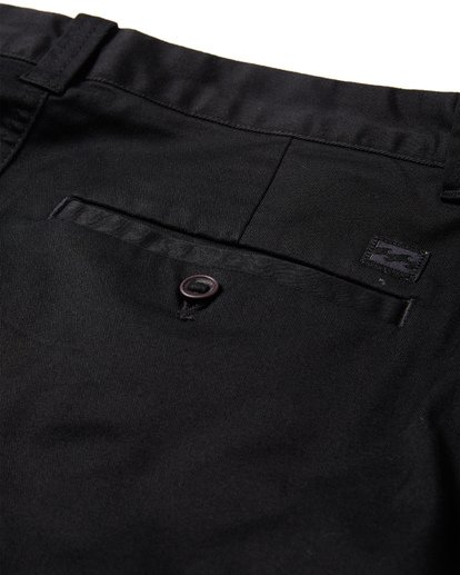 7 Crossfire X Slub Submersible Shorts Black M203NBCS Billabong