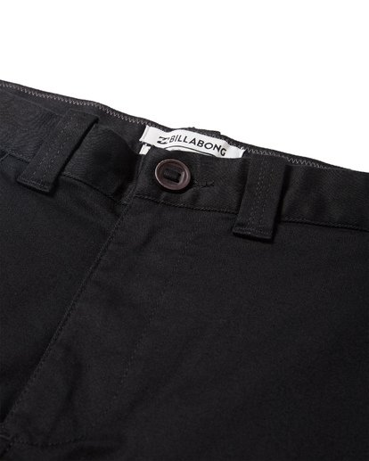 9 Crossfire X Slub Submersible Shorts Black M203NBCS Billabong