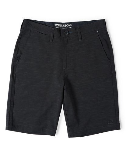 3 Crossfire X Slub Submersible Shorts Black M203NBCS Billabong
