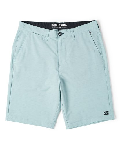 0 Crossfire X Slub Submersible Shorts Blue M203NBCS Billabong