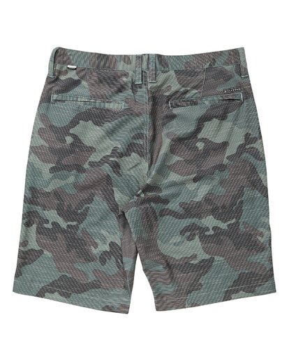 1 Crossfire X Slub Submersible Shorts Camo M203NBCS Billabong