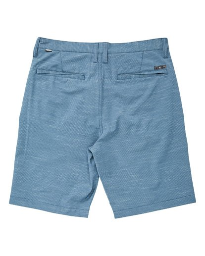1 Crossfire X Slub Submersible Shorts Blue M203NBCS Billabong