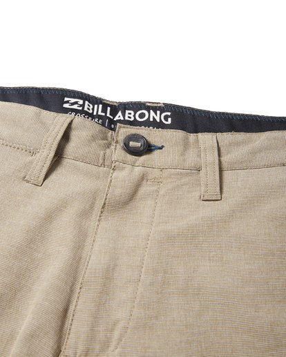 7 Crossfire X Slub Submersible Shorts Green M203NBCS Billabong