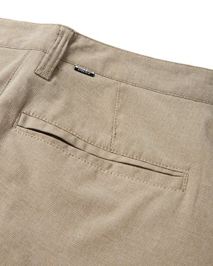 8 Crossfire X Slub Submersible Shorts Beige M203NBCS Billabong
