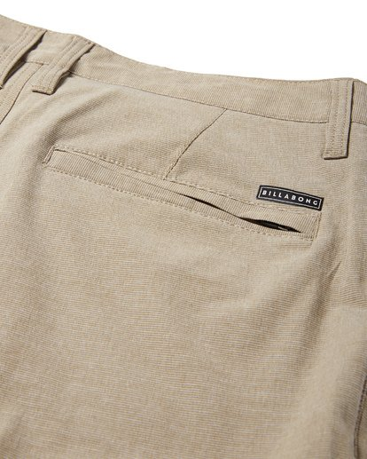 9 Crossfire X Slub Submersible Shorts Beige M203NBCS Billabong