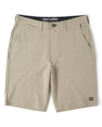 3 Crossfire X Slub Submersible Shorts Beige M203NBCS Billabong