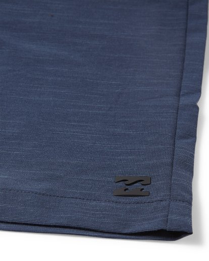 7 Crossfire X Slub Submersible Shorts Blue M203NBCS Billabong