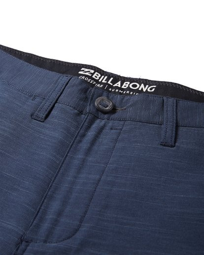 8 Crossfire X Slub Submersible Shorts Blue M203NBCS Billabong