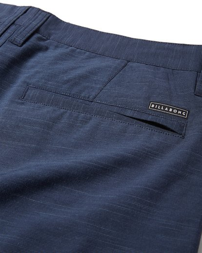 10 Crossfire X Slub Submersible Shorts Blue M203NBCS Billabong