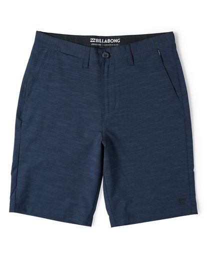 3 Crossfire X Slub Submersible Shorts Blue M203NBCS Billabong
