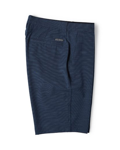 6 Crossfire X Slub Submersible Shorts Blue M203NBCS Billabong