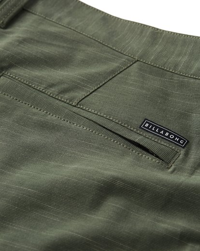 5 Crossfire X Slub Submersible Shorts Green M203NBCS Billabong