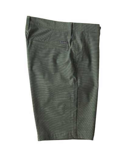 3 Crossfire X Slub Submersible Shorts Green M203NBCS Billabong