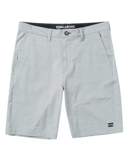 0 Crossfire X Slub Submersible Shorts Grey M203NBCS Billabong