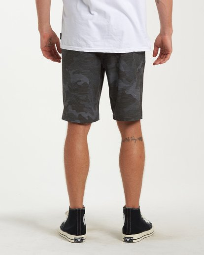 2 Crossfire X Slub Submersible Shorts Grey M203NBCS Billabong