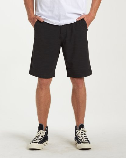 0 Crossfire X Slub Submersible Shorts Black M203NBCS Billabong