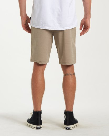 2 Crossfire X Slub Submersible Shorts Beige M203NBCS Billabong