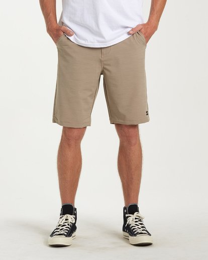 0 Crossfire X Slub Submersible Shorts Beige M203NBCS Billabong